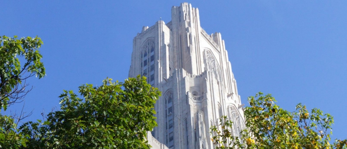 Photo of the Cathedral of Learning