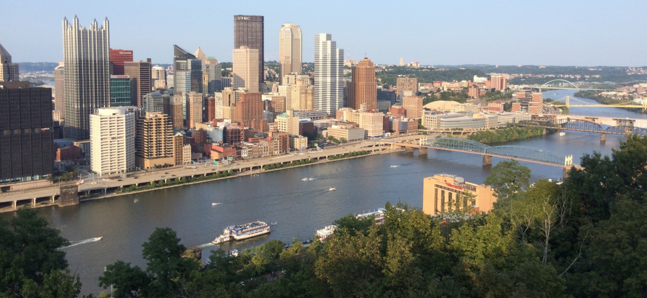View of Pittsburgh from Mt Washington